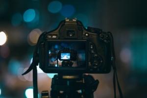 Camera Canon Taking Photo Photography Bokeh